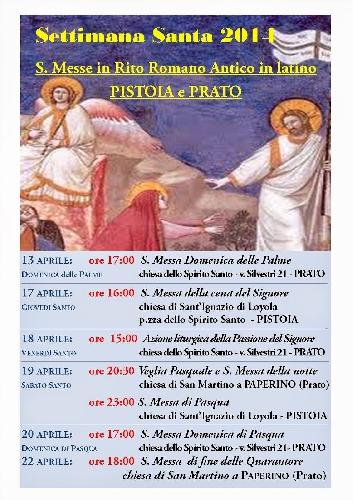 Settimana Santa a Prato e Pistoia Foto